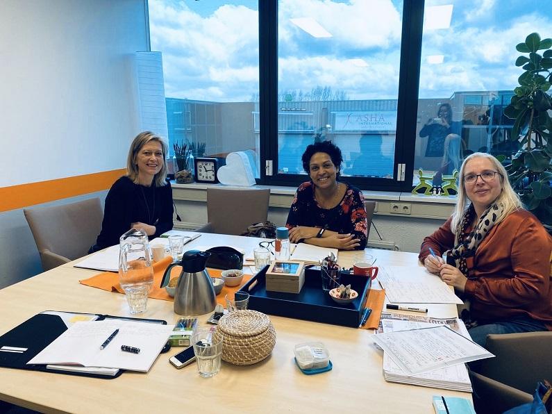 mastermindgroep ondernemers aan tafel